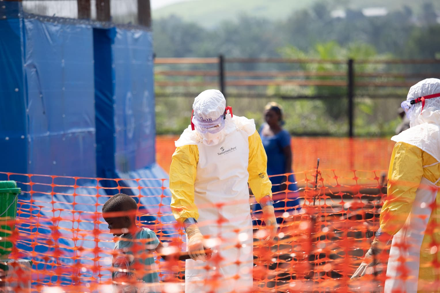 After a report of deadly Ebola virus outbreaks in the Democratic Republic of Congo, Samaritan's Purse airlifted medical teams and supplies to the country.
