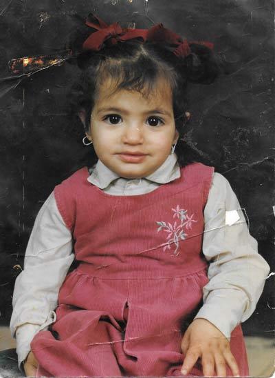Dania childhood portrait